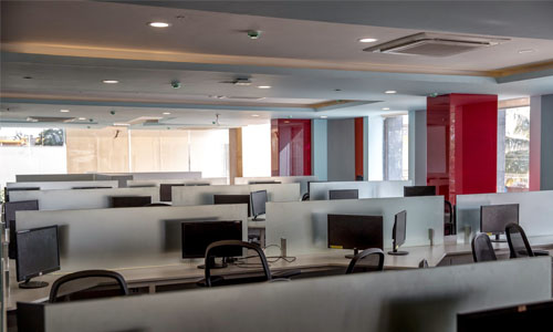 Started Operations on 1st Floor of Corporate Office