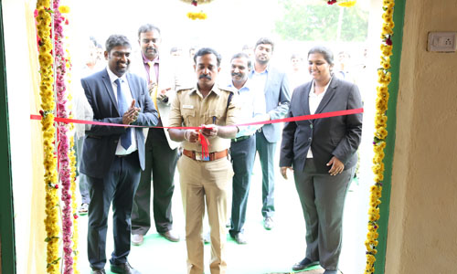 Opened a new satellite data processing center with a staff of 60