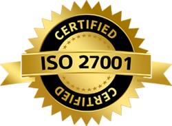 Certified for ISO 27001:2013 – Information Security Management